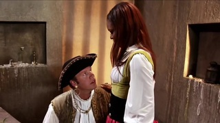 White Pirate sodomises skinny Negress Cabin-girl - sexy!