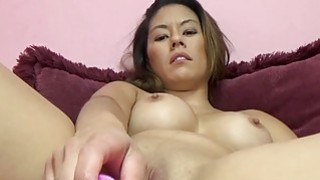 Nikko Jordan fucks her tight twat with a toy
