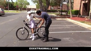 Itti-Bitty Bicyclist