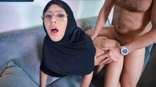 Tiny with hijab live the anal dream