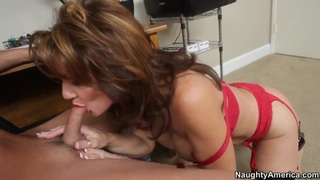 Deauxma and her young lover  Kris Slater
