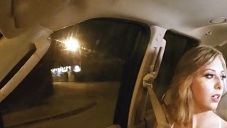 Blonde hitchhikier teen babe Kelly Greene gets fucked hard