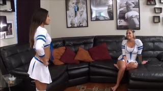 Sexy Cheerleader Foot Worship